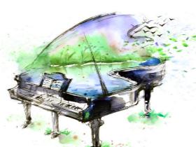 闺女学钢琴一年的总结
