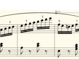 车尔尼599钢琴初步教程第93课