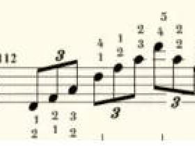 车尔尼599钢琴初步教程第100课